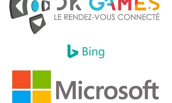 Partenariat Dk'Games Microsoft et bing