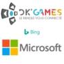 Dk'Games entre en partenariat avec Microsoft et bing