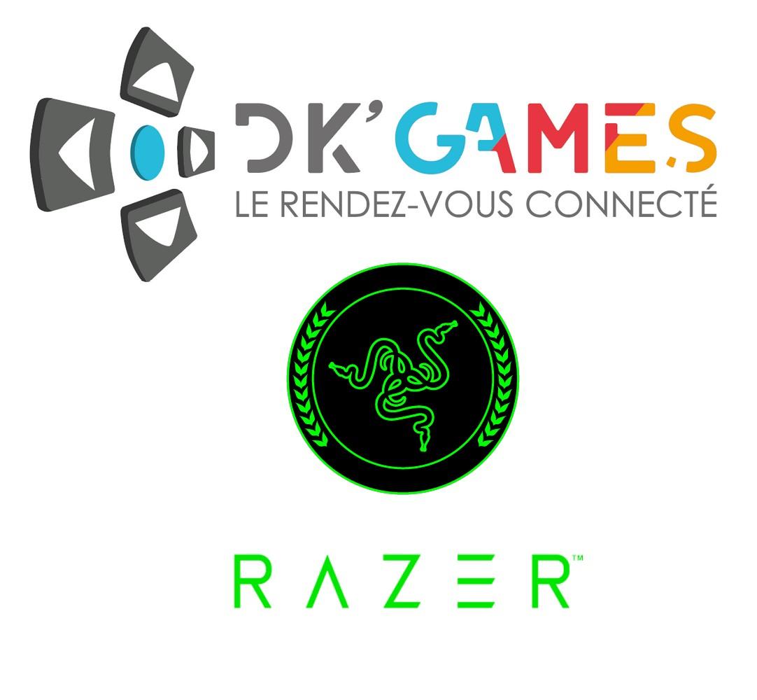 Partenariat Dk'Games Razer
